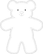 Carefree Bear Pattern